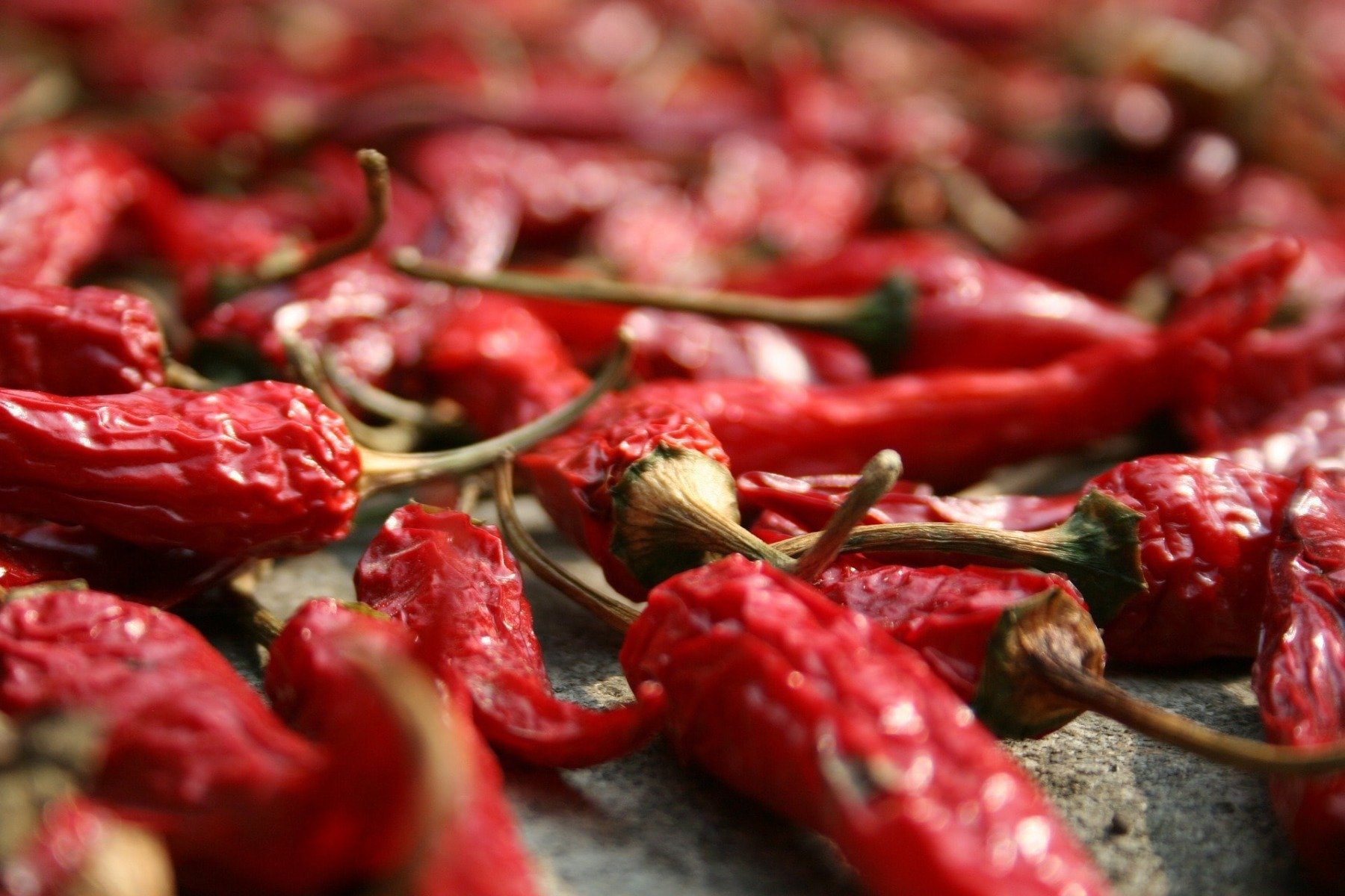 Capsaicin - a component of chili peppers