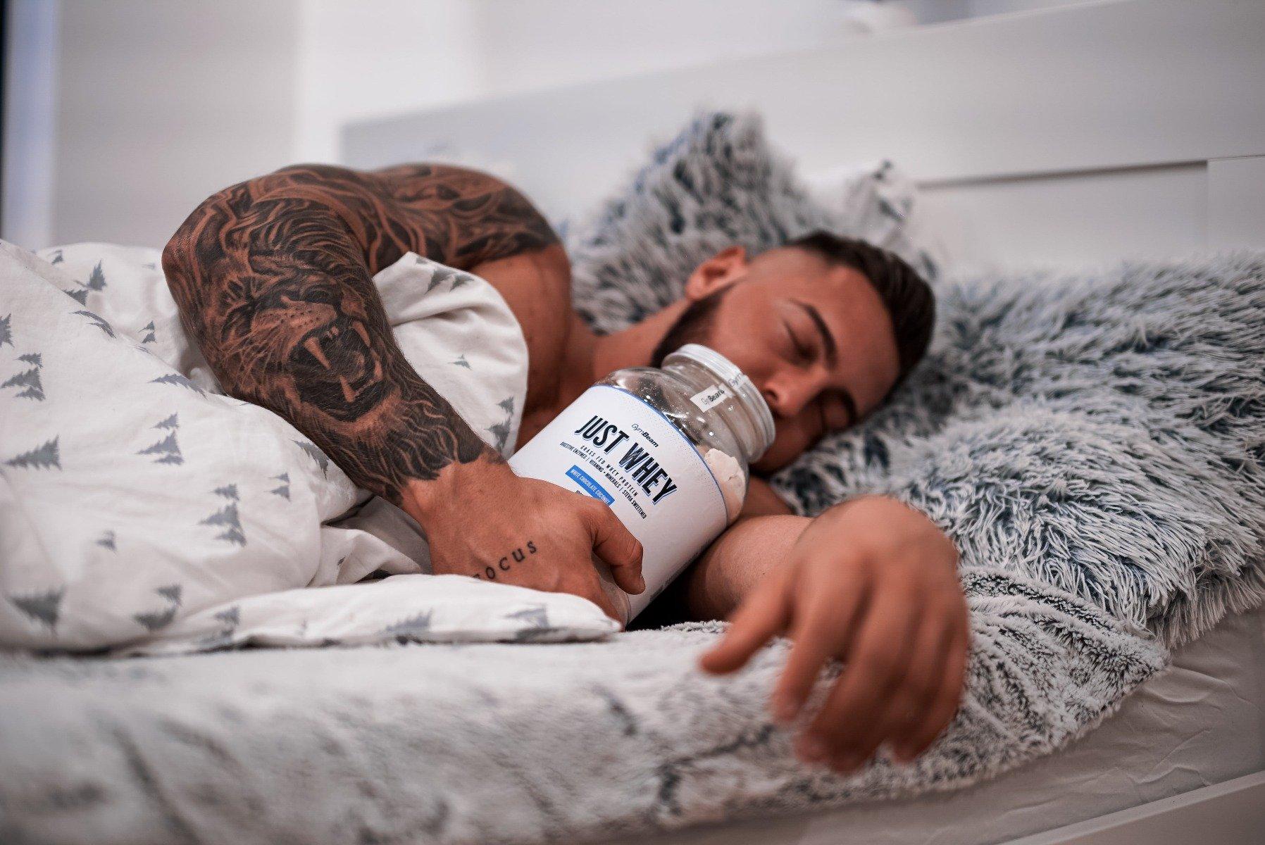 Effect of sleep on muscles
