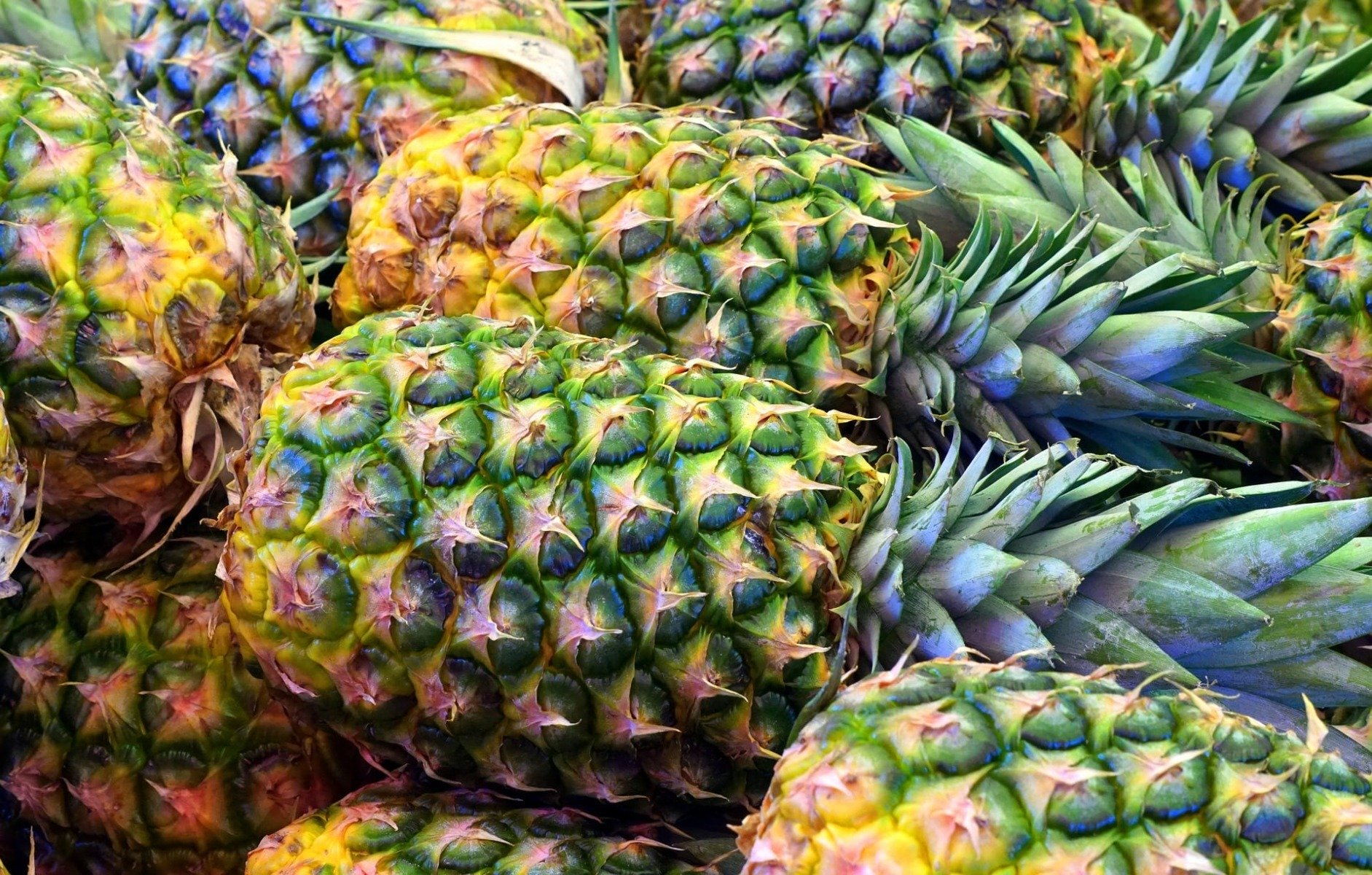 Foods containing digestive enzymes - pineapple