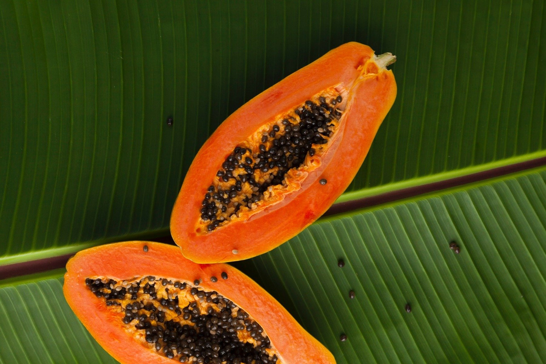 Foods containing digestive enzymes - Papaya